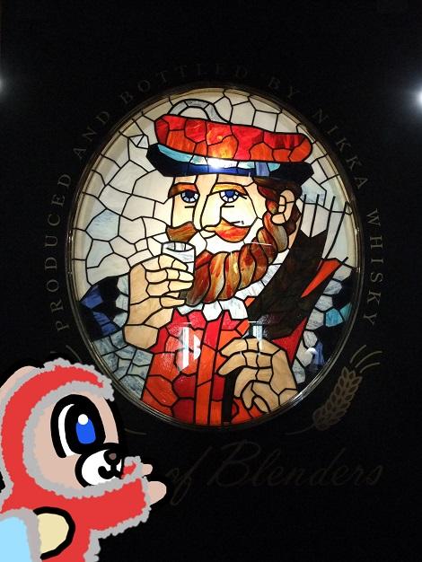 ウイスキー博物館に到着したピヨめぐモカ 4.jpg