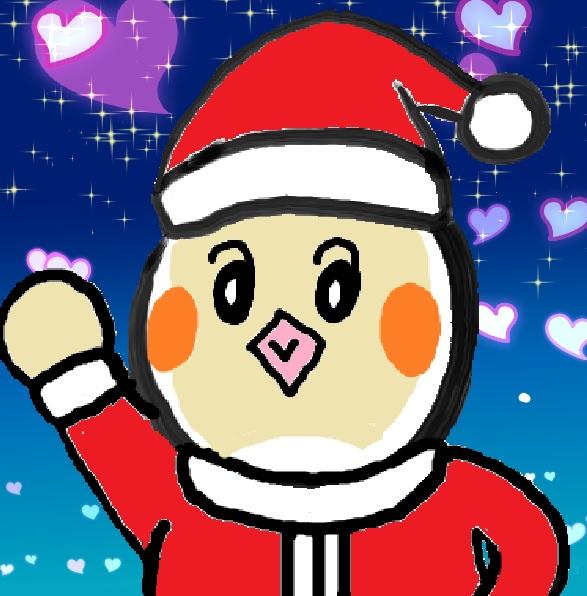ピヨ 12月 サンタクロース 星 ハート.jpg